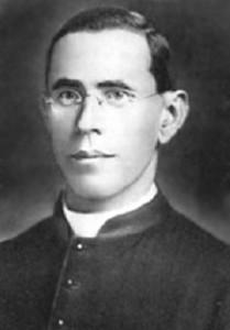 L'abbé Alban Robichaud.