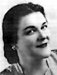 Anna Malenfant, élève de soeur Imelda à Saint-Anselme.