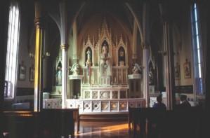 Chapelle du couvent de Bouctouche.