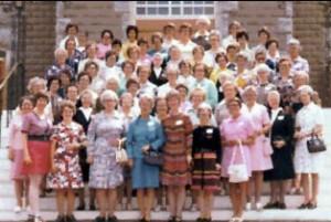 Soeurs NDSC originaires de Grand-Sault et soeurs ayant oeuvré à Grand-Sault.