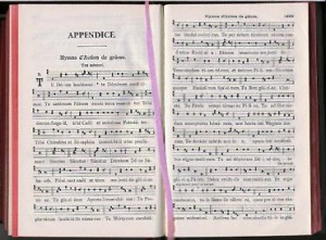 Te Deum dans Paroissien Romain, p. 1832.