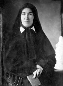 Mère Alphonse, supérieure généraledes SCIC en 1922.