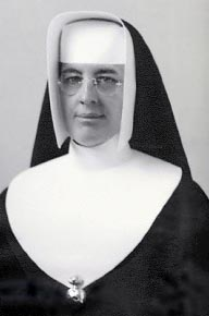 Mère M.-Juliette, directrice des collégiennes de 1948 à 1954 et supérieure au Collège Notre-Dame d'Acadie de 1954 à 1966.