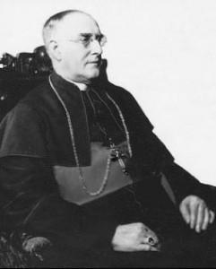 Mgr Édouard LeBlanc, premier évêque acadien, 1912-1935.