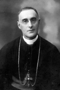Mgr Édouard LeBlanc, évêquede Saint-Jean (1912-1935).