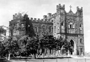 Mary's Home, école et résidence des SCIC à Moncton à partir de 1908