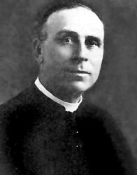 Père Nazaire Savoie, curé dePetit-Rocher de 1921 à 1940.