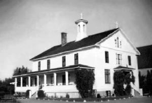 Couvent de Petit-Rocher ouvert en 1926.