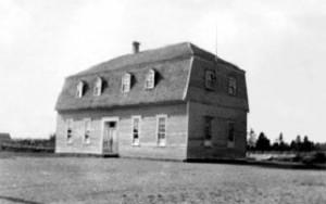 École où les soeurs commencent à enseigner en 1923.