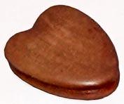 Claquette en forme de coeur pour donner le signal du règlement des élèves ou des soeurs.