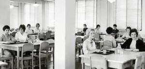 Cafétéria du Collège NDA.