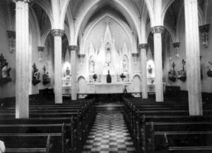 Chapelle de la maison mère des SCIC à Saint-Jean.