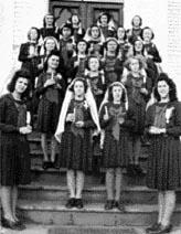 Enfants de Marie, 8 décembre 1944.
