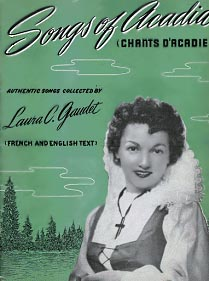 Laura Gaudet, élève de soeur Imelda à Saint-Anselme.