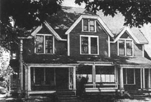 Maison St-Vincent-de-Paul, rue Church à Moncton (1928-1944)
