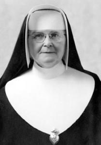 Mère M.-Jeanne-de-Valois, instigatrice du Collège NDA.