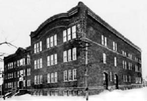 Académie du Sacré-Coeur, rue Church, ouverte en 1923