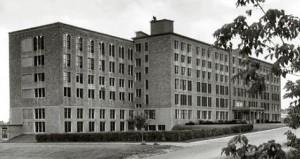 Édifice du Collège NDA, 1960.