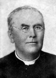 Père Camille Lefebvre, c.s.c., supérieur du collège et curé de 1864 à 1895.