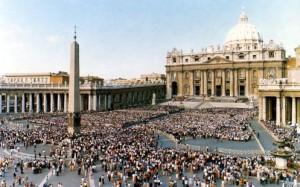 Des milliers de personnes à Rome pour la canonisation d'Elizabeth Seton.