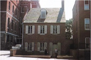 Maison de la rue Paca, Baltimore.(Tiré de Elizabeth Ann Seton par M. I. Fugazy)