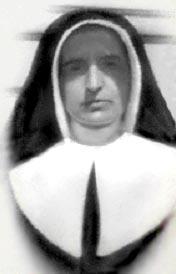 Soeur Marie-Thérèse, première supérieure à Saint-Anselme.