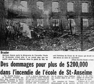 L'Évangéline du 24 juillet 1967.